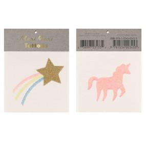Tatuagens Star & Unicorn