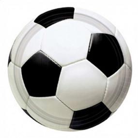 Pratos Futebol 22cm