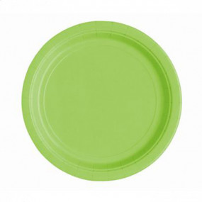 Pratos Verde Lima