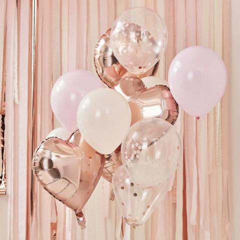 Bouquet Balões Rosagold