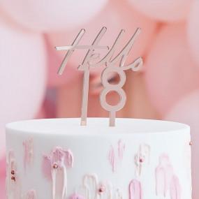 Topo Bolo Hello 18