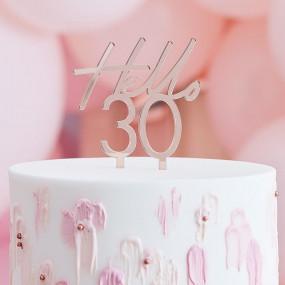 Topo Bolo Hello 30