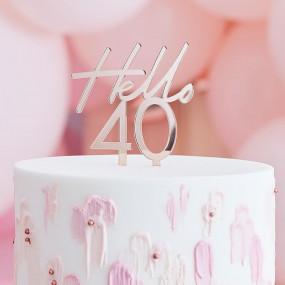 Topo Bolo Hello 40