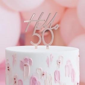 Topo Bolo Hello 50
