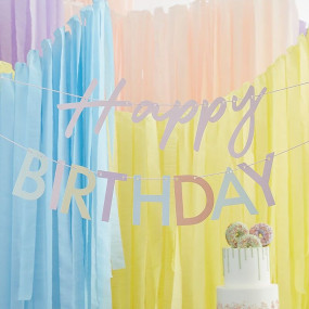 Grinalda Happy Birthday Pastel