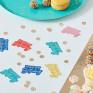 Confetis Happy Birthday Coloridos