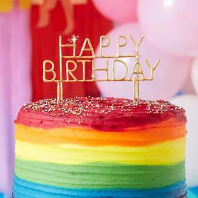 Vela Happy Birthday Sparkler