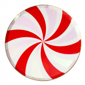 Pratos Swirl Peppermint
