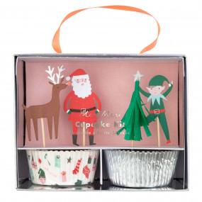 Kit Cupcakes Natal