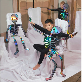 Conj. 3 Esqueletos Gigantes