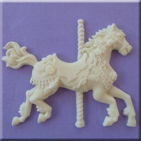 Molde Cavalo Carrossel