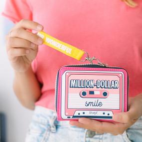 PORTA-MOEDAS - MILLION-DOLLAR SMILE