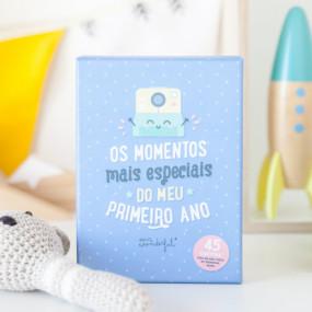 CARTÕES PARA BEBÉS - MOMENTOS ESPECIAIS DO MEU PRIMEIRO ANO