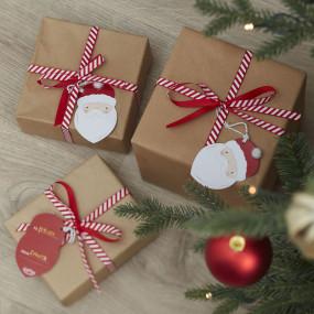 Etiquetas Pai Natal