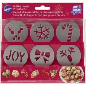 Wilton Discos Natal Para Dispara Biscoitos
