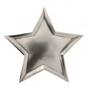 Pratos Estrela Prateada - conj.8