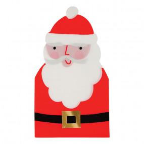 Guardanapos Pai Natal Recortados