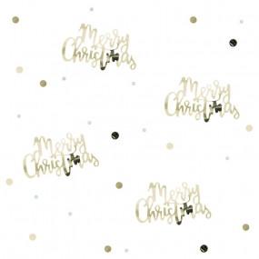 Confetis Merry Christmas Ouro