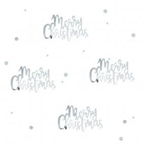 Confetis Merry Christmas Prata