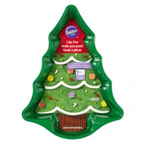 Wilton - Forma Bolo Pinheiro de Natal 37cm