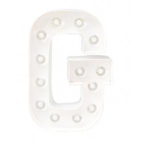 Letra Luminosa G