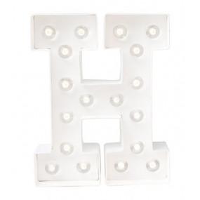 Letra Luminosa H