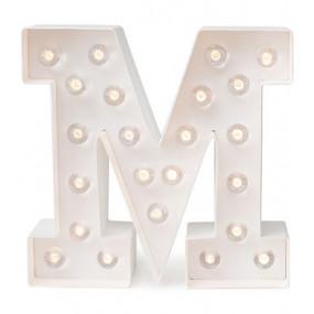 Letra Luminosa M