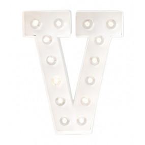 Letra Luminosa V
