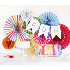 Rosetas Decorativas Bright Birthday