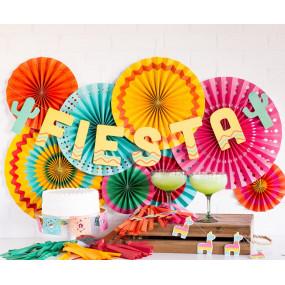 Rosetas Decorativas Fiesta