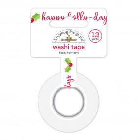 Washi Tape Happy Holly-Days