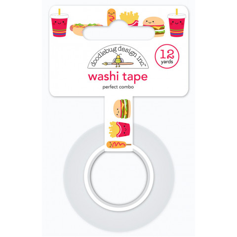 Washi Tape Fastfood Lovers