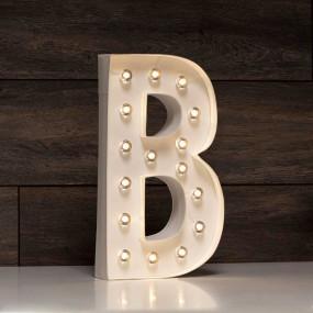 Letra Grande Luminosa B