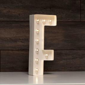Letra Grande Luminosa F