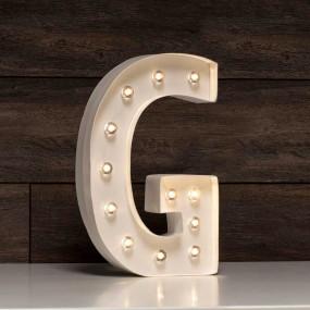 Letra Grande Luminosa G