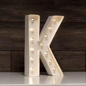 Letra Grande Luminosa K