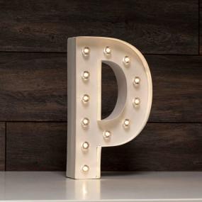 Letra Grande Luminosa P