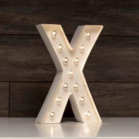 Letra Grande Luminosa X