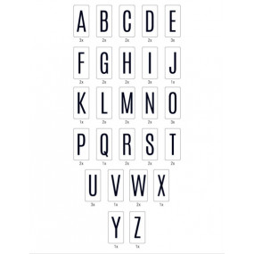 Letras Para lightbox HEIDI SWAP