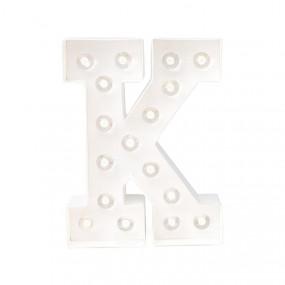 Letra Luminosa K