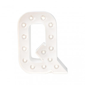 Letra Luminosa Q