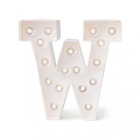 Letra Luminosa W