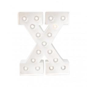 Letra Luminosa X