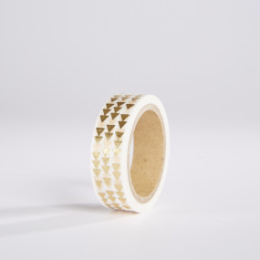 Washi Tape Setas Gold