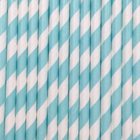Palhinhas Riscas Azul Ceu