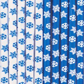 Palhinhas Azuis Flocos