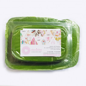 Pasta de Açúcar Verde Folha 1Kg