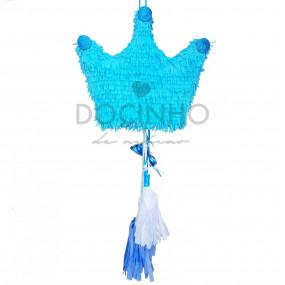 Pinhata Coroa Azul Tassel