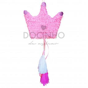 Pinhata Coroa Rosa Tassel