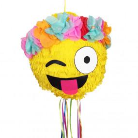 Pinhata Emoji Flores